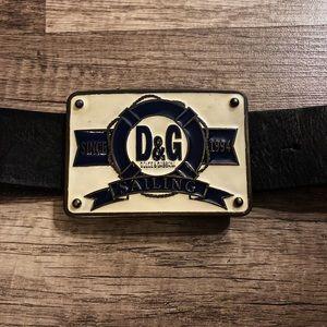 Men's D&G belt
